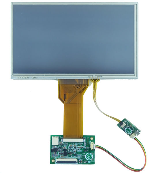 7inch LCD with Resistive touch