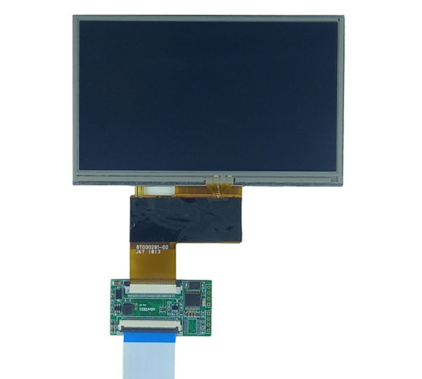 5inch LCD with Resistive touch